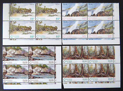 1993 Christmas Island Stamps - Scenic Views of Christmas Island - Set 4x4 MNH