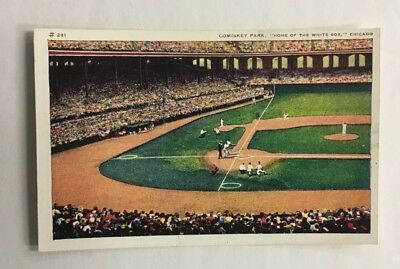 Pleasing 1900 Comiskey Park Postcard Chicago White Sox Mlb Baseball Onthecornerstone Fun Painted Chair Ideas Images Onthecornerstoneorg