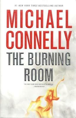 The Burning Room (A Harry Bosch Novel) Michael Connelly SIGNED First Edition