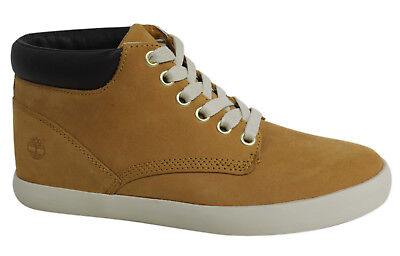 TIMBERLAND FLANNERY 6 Inch Wheat Lace Up Mid Cupsole Womens