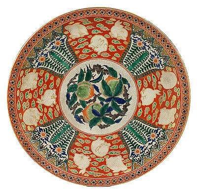 Exceptional 19th Century Japanese Aode Kutani Charger
