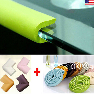 2M Baby Table Edge Corner Guard Foam Protector Door Furniture Surface Baby Proof