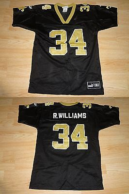 00eefcce0ea PUMA RICKY WILLIAMS New Orleans Saints Authentic Jersey 52 2XL Ripon ...