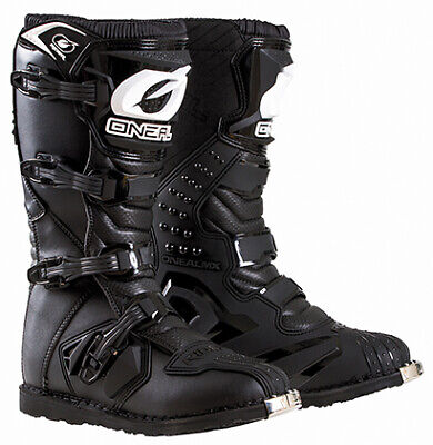 Oneal 2018 Mens Rider MX ATV Motorcycle Boots Black All Sizes 7-15