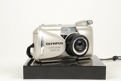 Olympus Stylus Epic Zoom 80 DLX 35mm Point and Shoot Camera 38-80mm Lens #129199