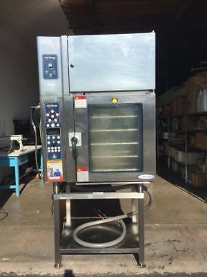 Alto-Shaam Combitherm Boilerless Combi Oven 10.18 ESI With Ventless Hood VHES-10