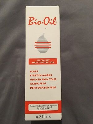 Bio-Oil for Scars,Stretch Marks,Uneven Skin Tone PurCellin Oil, 4.2 oz/125ml