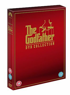 The Godfather Trilogy Dvd Boxset New Region 2