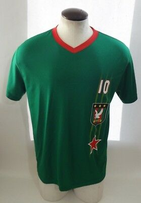 new arrivals a8540 7412d MEXICO NATIONAL SOCCER Team Large Men's Jersey Shirt New ...