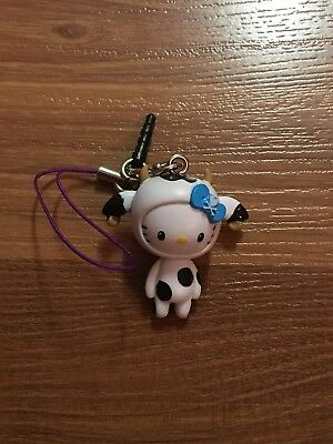 Hello Kitty Tokidoki Moofia Frenzie New Zipper Pull Or Key Chain