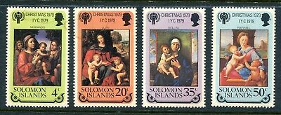 Solomon Islands 1979 Christmas & IYC Year of the Child  MNH