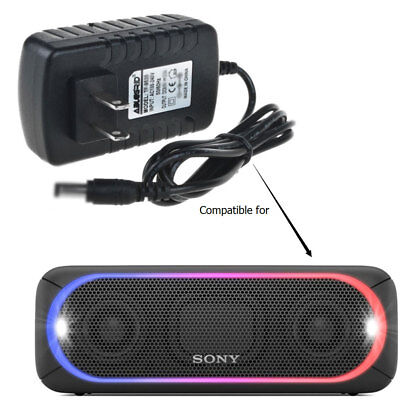 AC-DC Power Adapter For Sony SRS-XB40 SRSXB40 Portable Wireless Speaker Charger