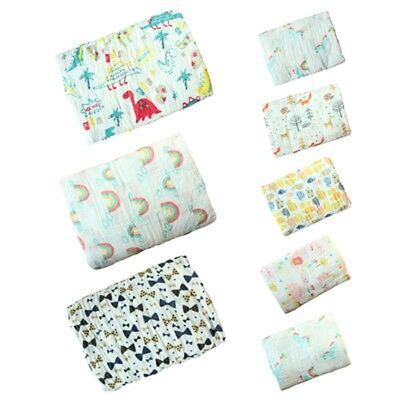 Newborn Couvertures Muslin Cotton Baby Swaddle Wrap Bedding Swaddle 2 Layer