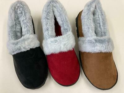 339 Soft Furry Warm Comfy Women Girl Lady Comfortable Winter Boots House Shoes