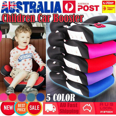 Car Booster Seat Chair Cushion Pad For Toddler Children Child Kids Sturdy 5COLOR