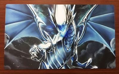 F2311 Free Mat Bag Yugioh Blue-Eyes White Dragon TCG CCG Custom Playmat