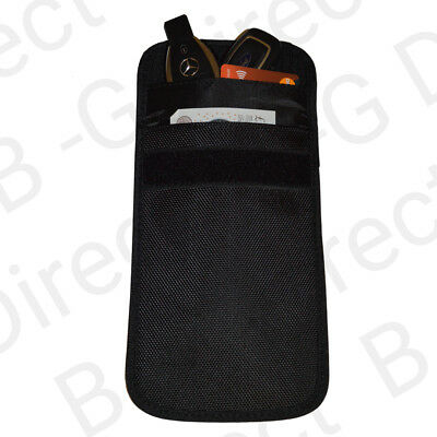 Large Keyless Entry Car Key Fob Signal Blocking Faraday Bag 19cm x 12cm