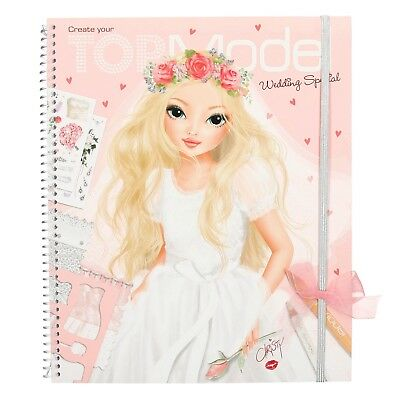TOPModel, Create your TOPModel Wedding Spezial Malbuch mit Sticker Depesche 6597