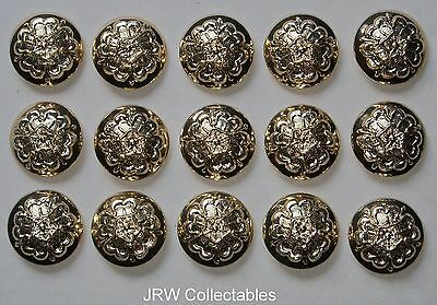 "15x British Army:""QUEEN'S LANCASHIRE REGIMENT BUTTONS"" (New - No.1 Dress Tunics)"