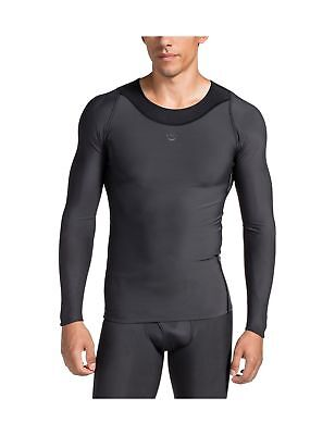 SKINS Men's RY400 Recovery Long Sleeve Top Black X-Small