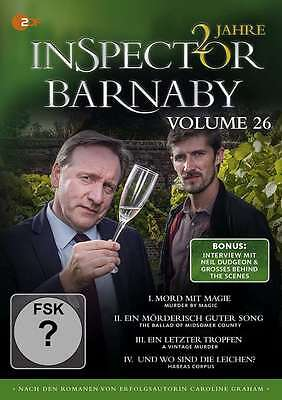 Inspector Barnaby - Vol 26 - 4 DVD Box