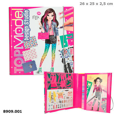 TOPModel, Create your TOPModel Design Studio Miju Sticker Malbuch Depesche 8909