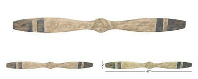 Wood Airplane Propeller 47x4-Inch Vintage Wooden Model Aviation Wall Home Decor