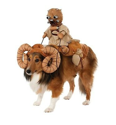 Disney Star Wars Bantha With Tusken Raider Sand People Pet Dog Cat Costume