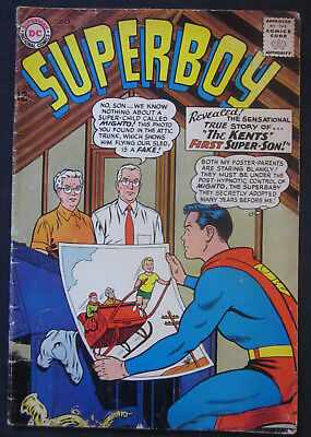SUPERBOY #108 1963 1st Series DC COMICS  VG 4.0 Silver Age Jerry SIEGEL