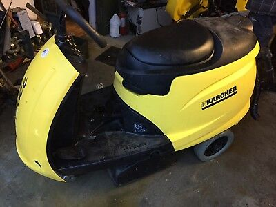 "Tornado Karcher Trike BR/BD Riding Floor Scrubber  Ride-ON  ""Low Hours"""
