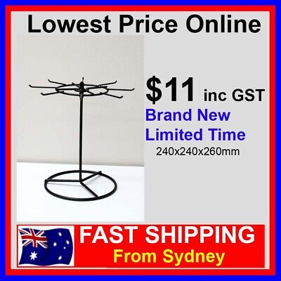 Rotating Counter Top Display Spinner Single Level Stand For Merchandising NEW!