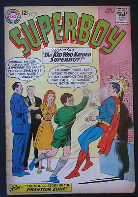 SUPERBOY #104 1963 1st Series DC Comics VG- 3.5 Silver Age PHANTOM ZONE