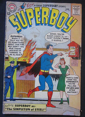 SUPERBOY #105 1963 1st Series DC Comics GD/VG 3.0 Silver Age SUPERBABY