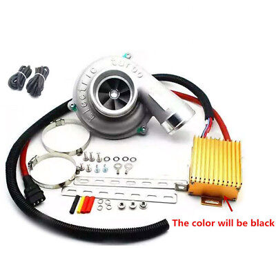 Lifting 10-30% Power Reduce Fuel Consumption Electric Turbocharger Kit Universal