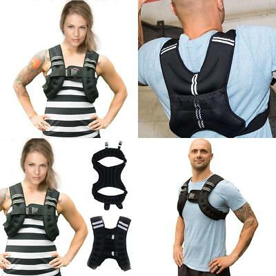 Weighted Vest Home Gym Running Fitness Weight loss Strength Jacket 10kg