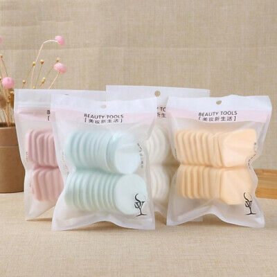 20pcs Round Wet and Dry Dual Use Makeup Sponge Powder Puff Air Cushion Cosmetic