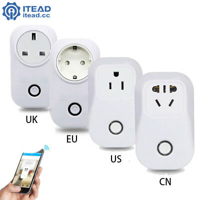 Sonoff S20 WiFi Smart Remote Control Socket Home Automation Devices Switch NA6