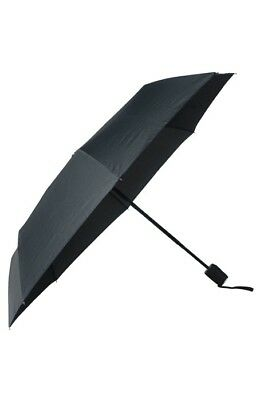 Hugo Boss Grid-pattern Pocket Umbrella With Automatic Opening - New - HUF524