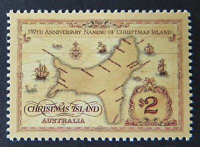 1993 Christmas Island Stamps - Naming of Christmas Island - Single $2 MNH