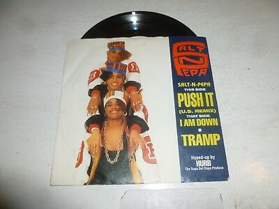 "SALT N PEPA - Push It - 1988 UK 2-track 7"" Juke Box Single"