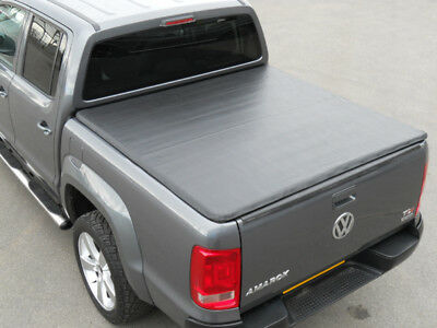 VW Amarok Double Cab 2011 On Tonneau Cover – Rail with Hidden Press Snap