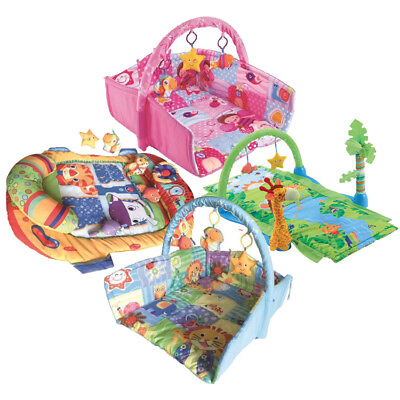 Baby Toddler Play Mat: 4 Styles (Learning Movement Mats Skill Gym Fun Activity)