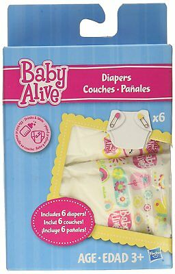 Replacement Baby Alive Diapers Pack Doll Food Refill Accessories Disposable Sale