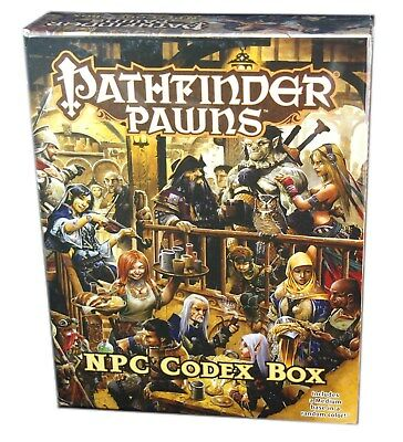 Paizo, Pathfinder Roleplaying Game, Pawns Villain Codex Box, New