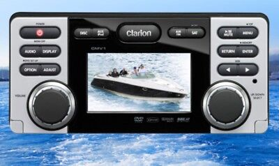 Clarion CMV1 - MARINE-BOOT DVD-/CD-/USB-RECEIVER UVP war € 699,00