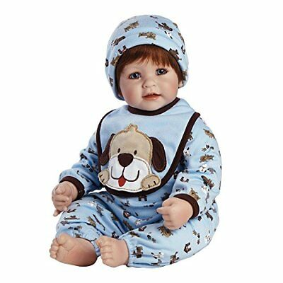 """Adora Toddler WOOF 20"""" Boy Weighted Doll Gift Set for Children NEW FREE SHIPPING"""