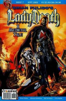 Lady Death: A Medieval Tale #7 in Near Mint - condition. FREE bag/board
