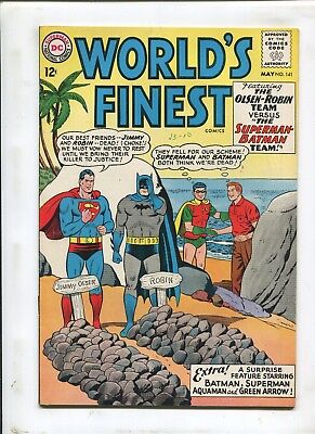 "Worlds Finest Comics #141 - ""the Superman-Batman Team!"" - (7.5) 1964"