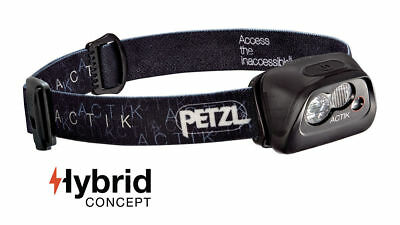 PETZL ACTIK headlamp Hybrid Concept 300 Lumens [Colour:Black]