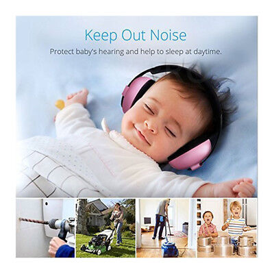 Baby Earmuffs Children Kids Hearing Protection Infant Ear Muffs Noise Reducing